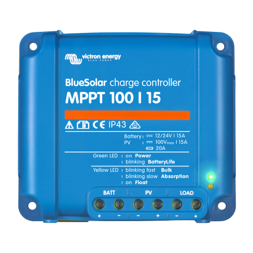 Victron BlueSolar MPPT 100/15 charge controller