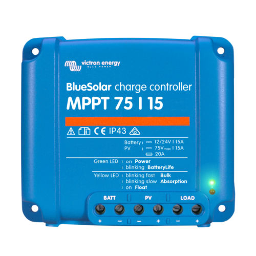 Victron BlueSolar MPPT 75/15 charge controller