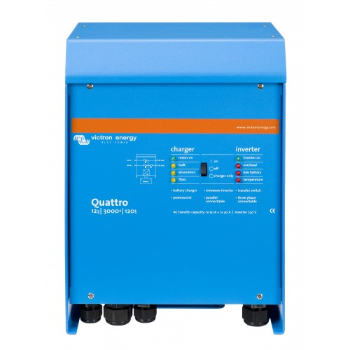 Victron Quattro 24/3000-70-50/50 Inverter/Charger