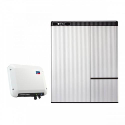 SMA Sunny Boy Storage 2.5  - LG Chem RESU10H Battery Set