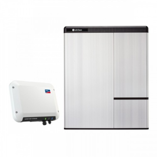 SMA Sunny Boy Storage 2.5  - LG Chem RESU 7H Battery Set