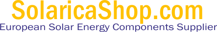 SolaricaShop.com - European Solar Energy Components Supplier